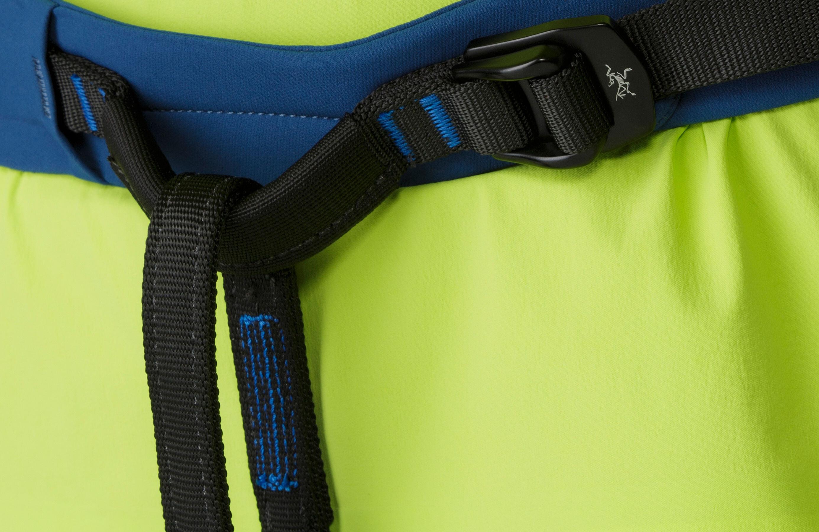 Skylotec Klettergurt Unterschied : Arcteryx fl 355 harness women poseidon titanite campz.de